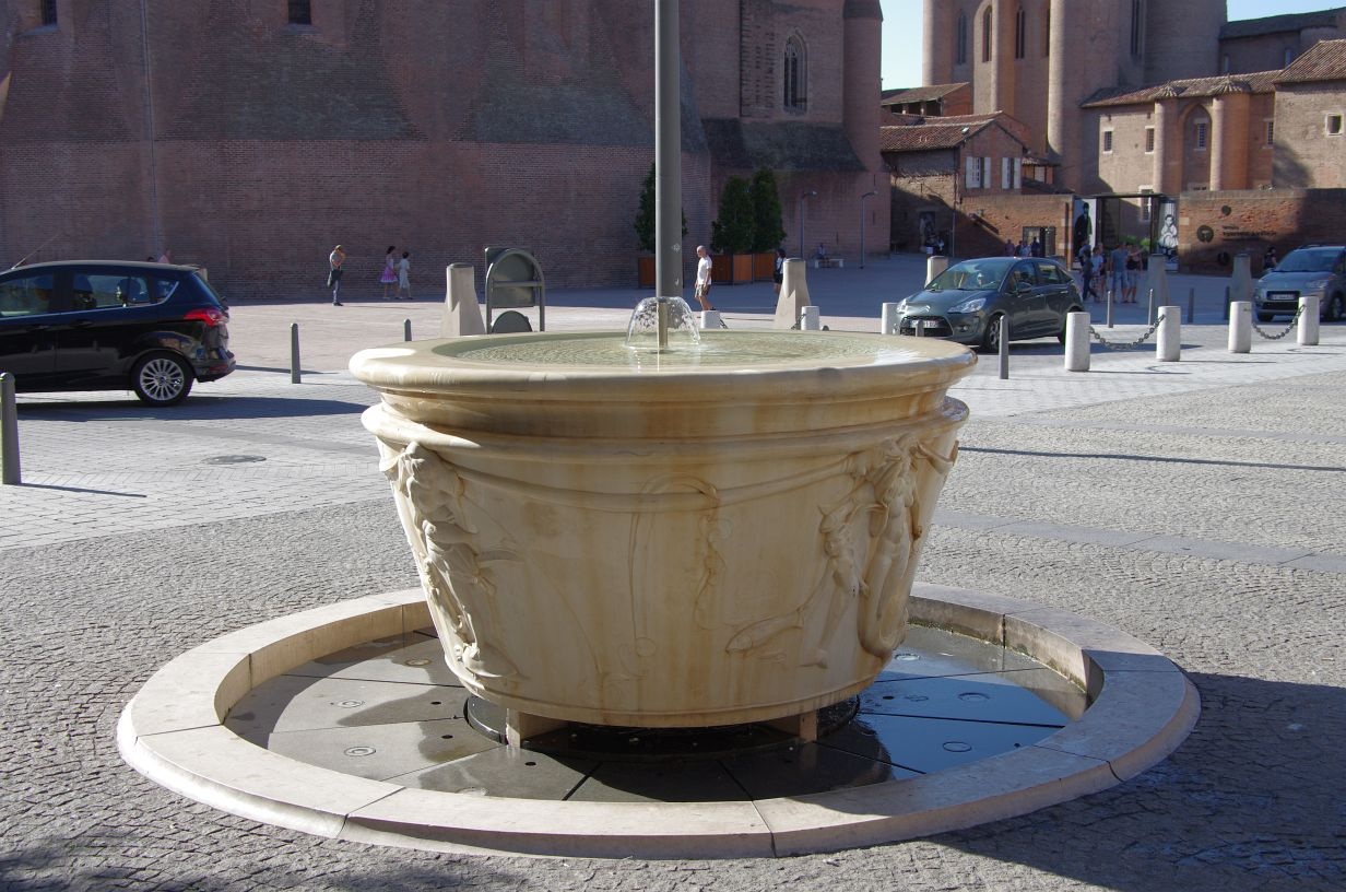 Brunnen auf dem Domplatz