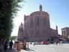 Der riesige Dom gehört zum Weltkulturerbe