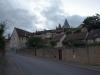 kurze Wanderung zum alten Dorfkern von Buxy