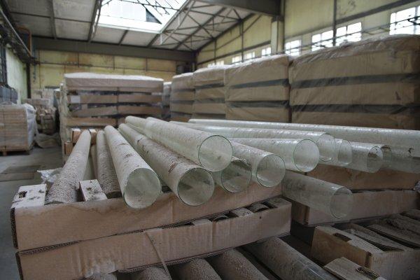 Rohre aus TGI-Produktion