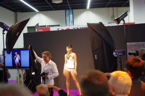 Photoshooting Workshop am Fotocommunity.de Stand