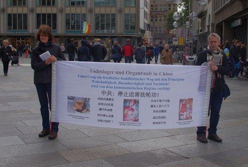 Falun-gong Bewegung in Deutschland