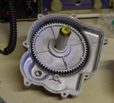 Oberschale des Rotors