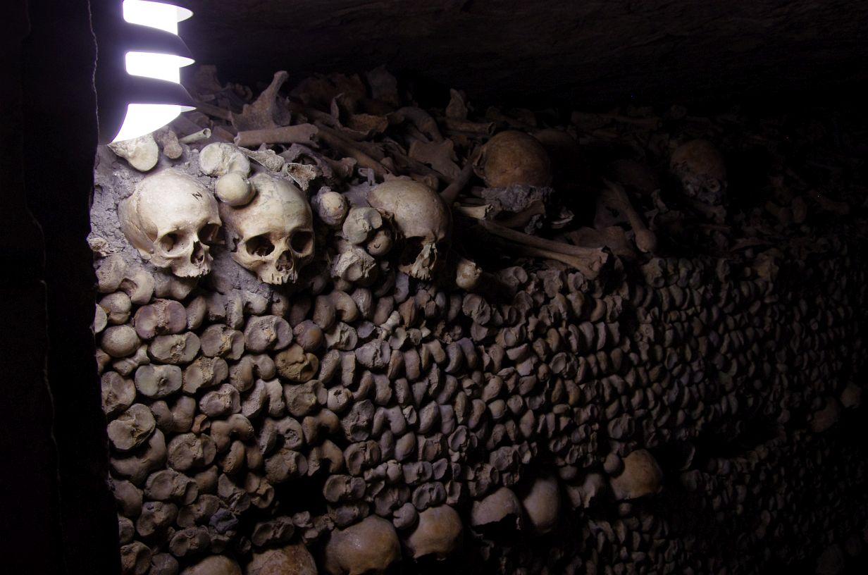 die Knochenmauern sind wirklich abgefahren