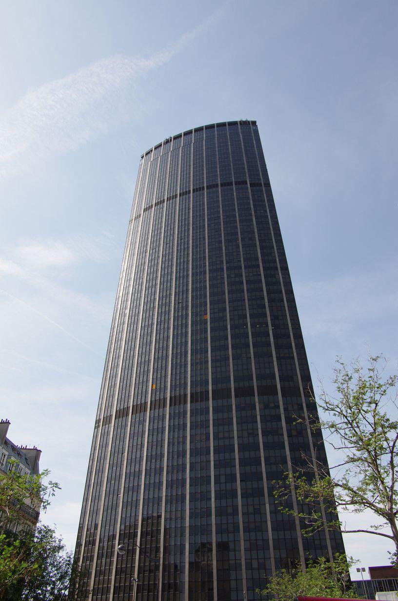 Der Montparnasse-Turm: Wir waren auf der Aussichtsplattform ganz oben