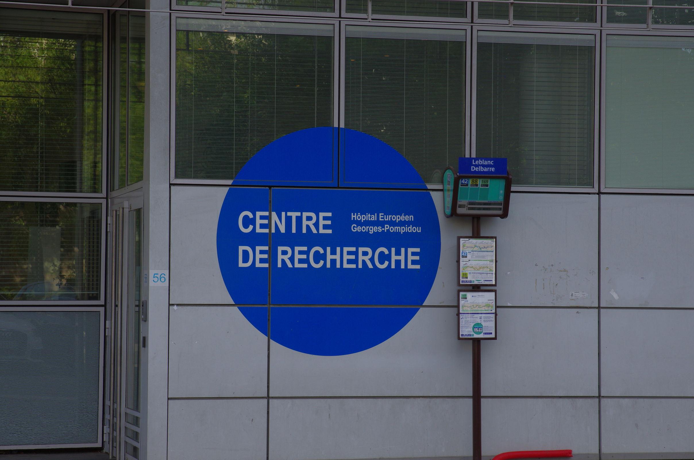 Eingang zum Forschungsinstitut