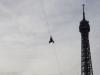 Abseilen vom Eiffelturm