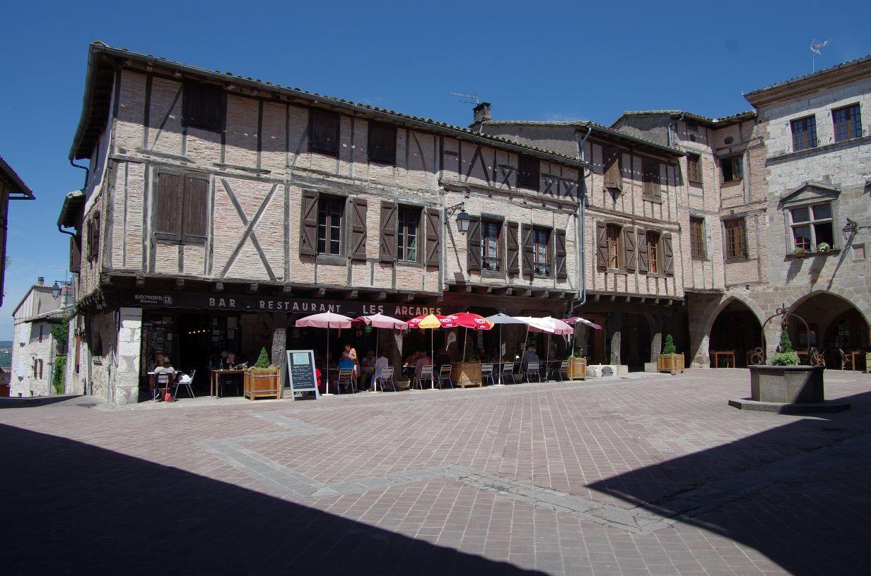 Markt von Castalnau de Montmiral