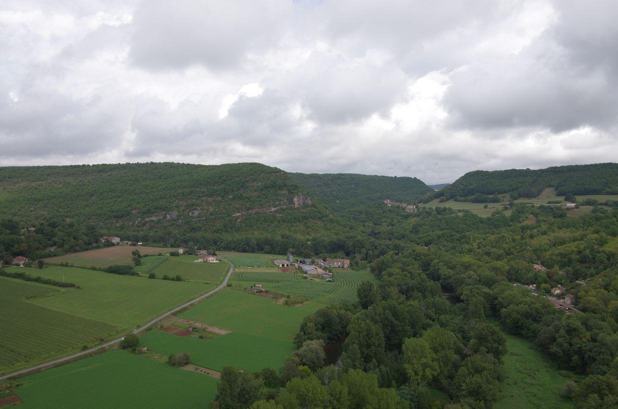 Ausblick von der Burg