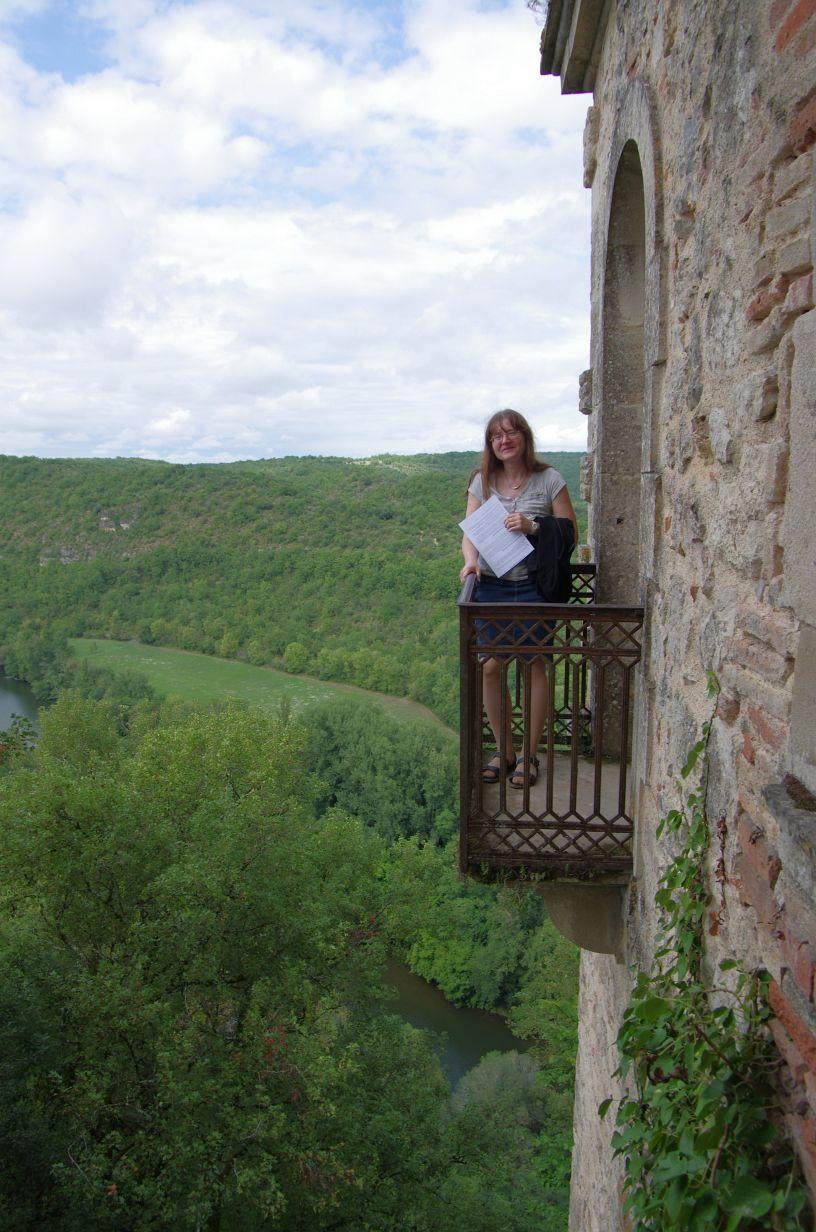 der ultimative Balkon für Leute mit Höhenangst