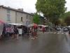 St. Antonin: Markttag im Regen
