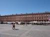 Place du capitole - darunter liegt die riesige Tiefgarage